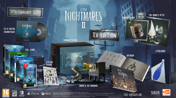 Little Nightmares II - TV Edition  ( XONE & XBOX SERIES X )  NEW
