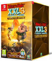 Asterix & Obelix XXL 3 - The Crystal Menhir  Collector's  Edition  NSW NEW