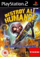 Destroy All Humans! PS2 USED (No Manual)