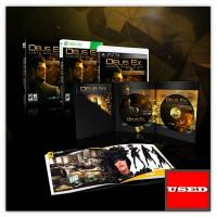 Deus Ex: Human Revolution (Augmented Ed) X360 USED (Without Outer Sleeve + Artbook)
