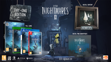 Little Nightmares II  - Day 1 Edition  ( XONE & XBOX SERIES X )  NEW  + Preorder Bonus