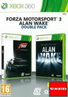 Forza Motorsport 3+Alan Wake Double Pack (Bundle) X360 USED (Only Forza)