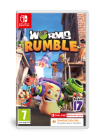 Worms  Rumble  (Code In A Box) Nintendo Switch  NEW