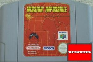Mission: Impossible N64 UNBOXED