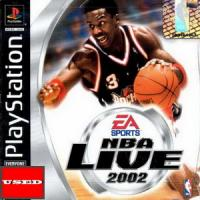 NBA Live 2002 PSX USED