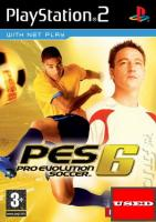 Pro Evolution Soccer 6 PS2 USED (No Manual)