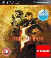 Resident Evil 5: Gold Edition PS3 USED (No Manual)