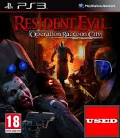 Resident Evil: Operation Raccoon City (PR) PS3 USED (Disc Only)