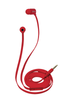 Headphones U.R Duga InEar Flat Red  (19881)