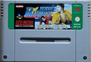 World Class Rugby SNES UNBOXED (Bad Condition Catridge)