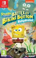 Spongebob Square Pants: Battle for Bikini Bottom - Rehydrated  NSW  NEW