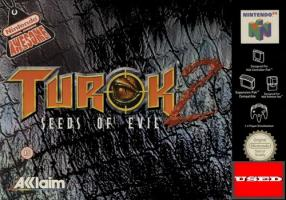 Turok 2: Seeds of Evil N64 USED (No Manual)