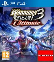 Warriors Orochi 3 Ultimate PS4 USED
