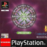 Who Wants to Be a Millionaire? 2nd Ed PSX USED (Damaged Case/ No Manual)