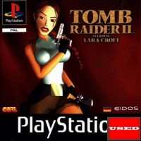 Tomb Raider II PS USED (NO MANUAL)