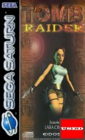 Tomb Raider SATURN USED