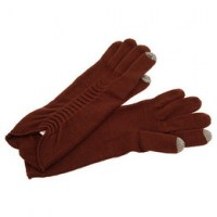 Touch Gloves - Γάντια Αφής Brown