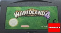 Warioland 4 GBA UNBOXED