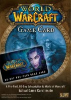 World of Warcraft Game Card 60 DAYS PC NEW
