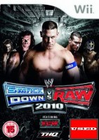 WWE SmackDown vs. Raw 2010 Wii USED