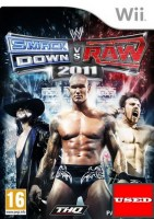 WWE SmackDown vs. Raw 2011 WII USED