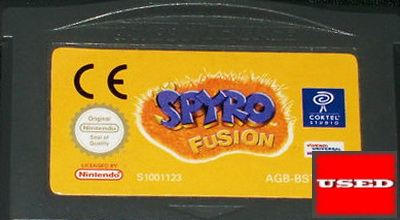 Spyro Fusion GBA UNBOXED
