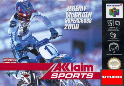 Jeremy McGrath Supercross 2000 N64 USED_product