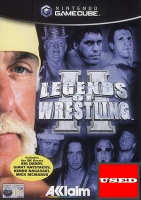 Legends of Wrestling II GC USED_product