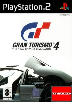 Gran Turismo 4 PS2 USED (Disc Only)