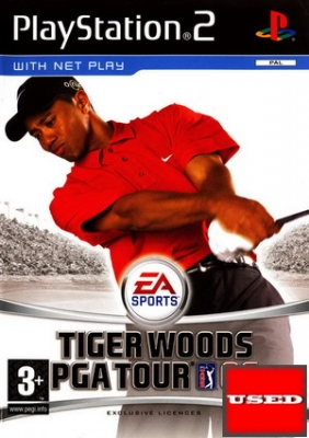 Tiger Woods: PGA Tour 06 PS2 USED