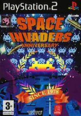 Space Invaders: Anniversary PS2 USED (No Cover)