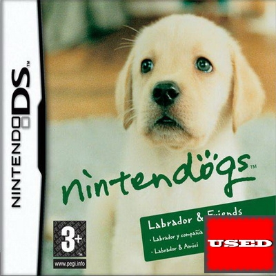 Nintendogs: Labrador and Friends DS USED_product